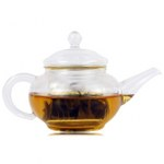 Filter Glass Tea Pot