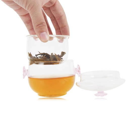 100ml Exquisite Flower Lid Teapot