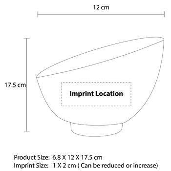 Large Sphere Cut Glass Bowl