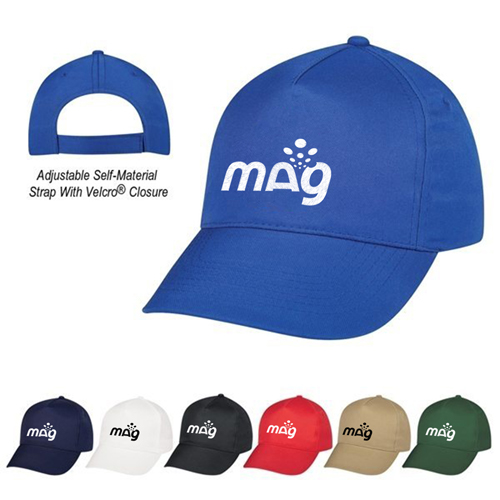 Trendy Cotton Twill Baseball Cap Image 2