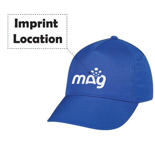 Trendy Cotton Twill Baseball Cap Imprint Image