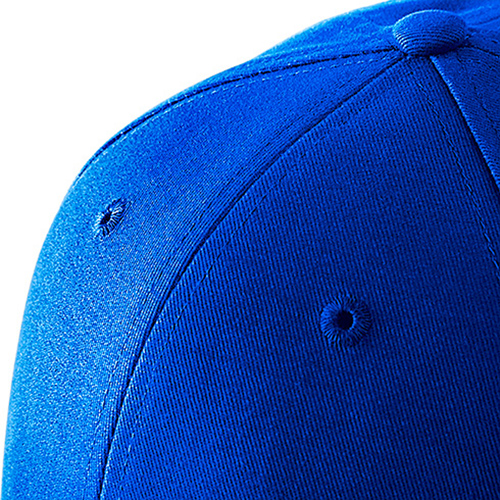 Curved Brim Cotton Baseball Cap Image 2