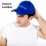 Curved Brim Cotton Baseball Cap Imprint Image