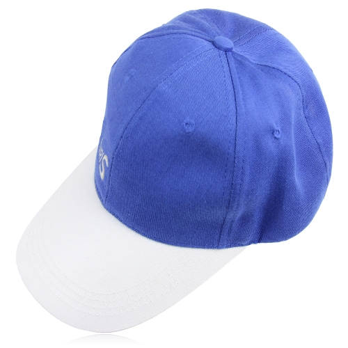 Two Tone Velcro Baseball Cap
