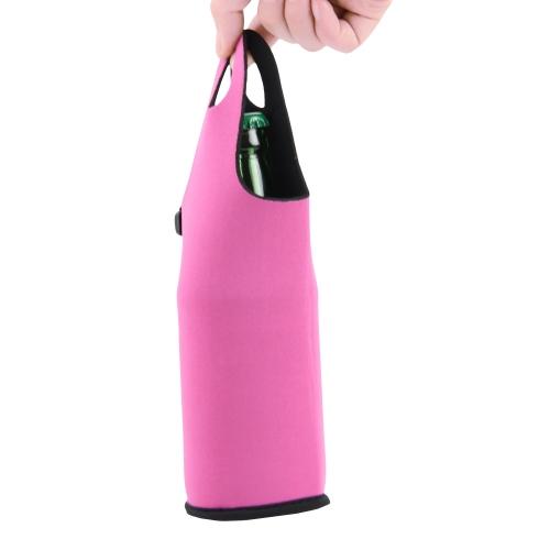 Bottle Cooler Koozie With Handle