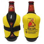 Safety Vest Koozie Stubby Cooler