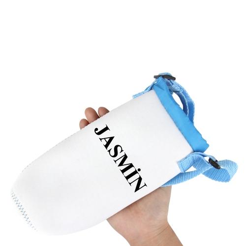 Pull Tie Strap Bottle Koozie