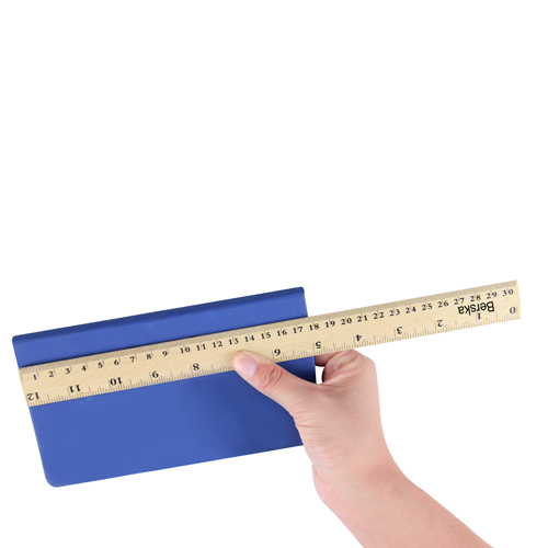 30cm Measuring Beechwood Craft Ruler Image 3