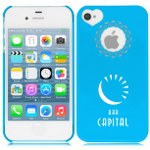 iPhone 4 4s Flower Heart Cover