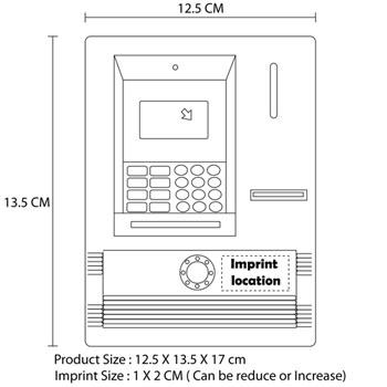 Novelty Speaking ATM Piggy Bank