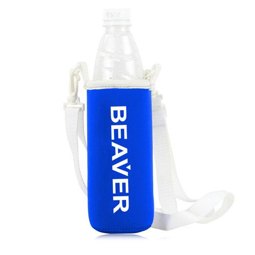 Bottle Koozie Cooler With Strap