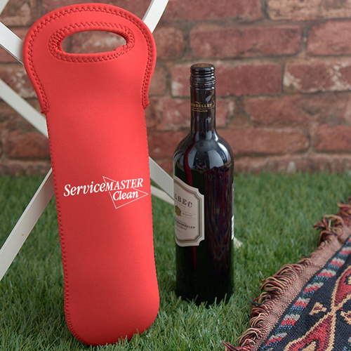 Neoprene Insulated Wine Bottle Tote Image 4