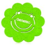Beautiful Frog Design Felt Coaster