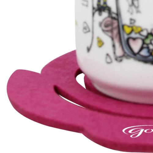 Flower Felt Placemat Coaster
