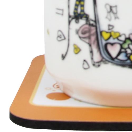 Eva Squrare Coaster Mat Image 5