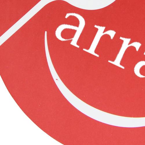Circle Absorbent Paper Coaster