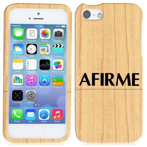 iPhone 5 / 5s Wooden Case