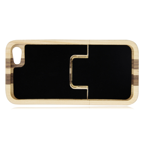Stripe iPhone 5 / 5s Wooden Shell