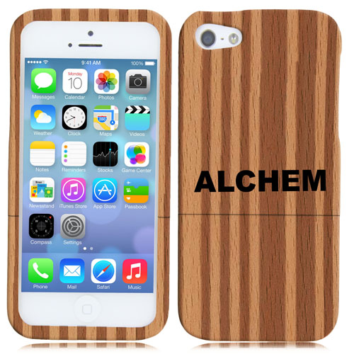 Multi Stripes Wooden iPhone 5 / 5s Cover