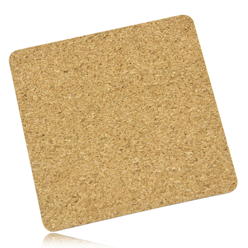 Eco-Friendly Square Paperboard Cork Coaster Image 5