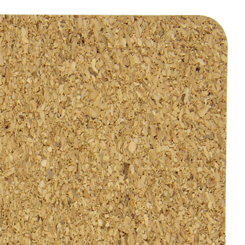 Eco-Friendly Square Paperboard Cork Coaster