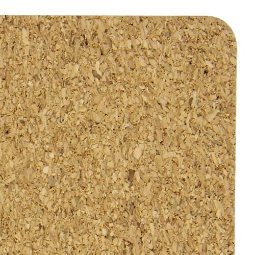 Eco-Friendly Square Paperboard Cork Coaster