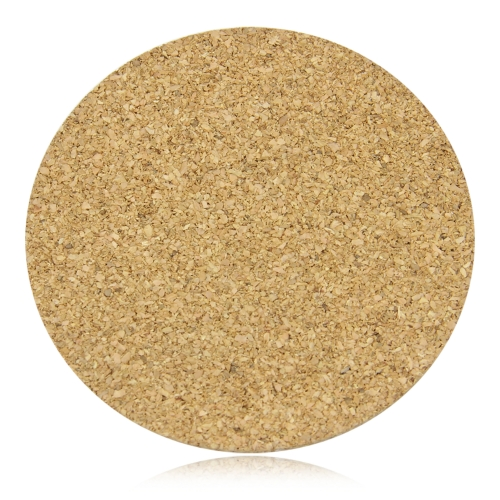 Round Natural Cork Coaster
