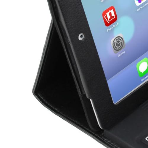 Folio Leather Case with Bluetooth Keyboard Image 6