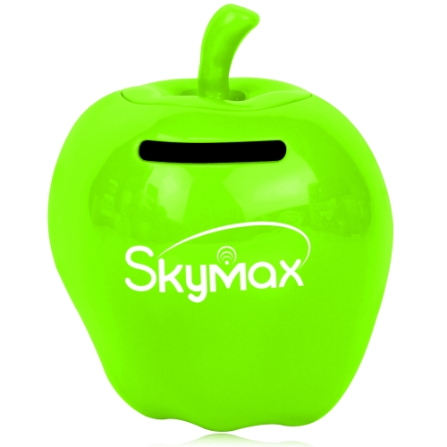 Cute Apple Shaped Coin Bank