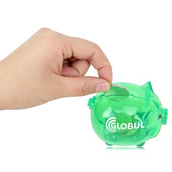 Translucent Piggy Bank
