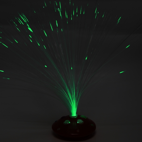 Multicolor Fiber Optic Flower Lighting