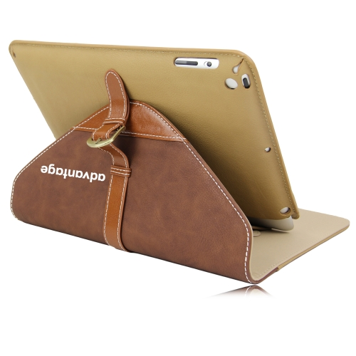 iPad Leather Sleeve With Belt Buckle