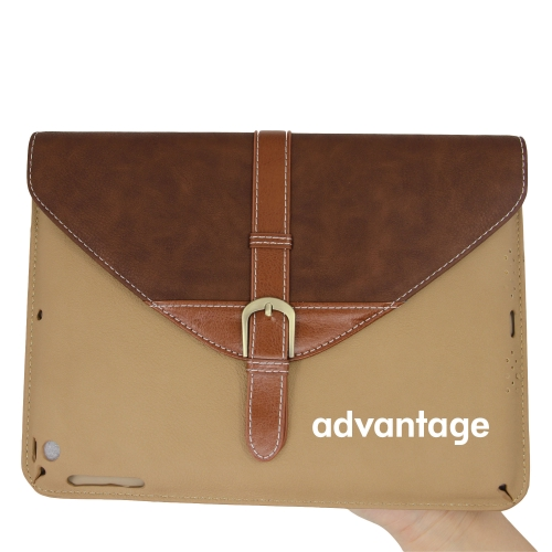 iPad Leather Sleeve With Belt Buckle Image 4