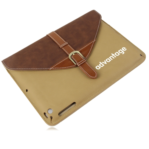 iPad Leather Sleeve With Belt Buckle Image 5