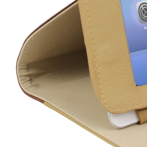 iPad Leather Sleeve With Belt Buckle Image 8
