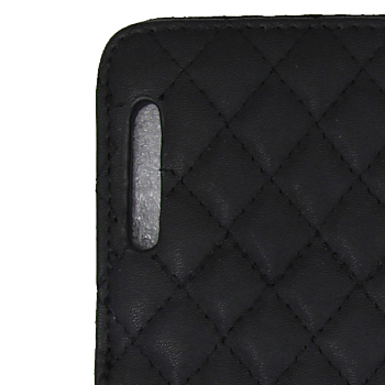 Leather Quilted Magnetic iPad Smart Cover