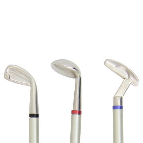 3 Piece Golf Clubs Pen Set