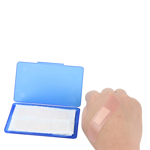 4 Strip Bandage In Plastic Case