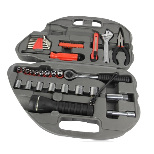 36-Piece Car Shaped Tool Kit Image 2