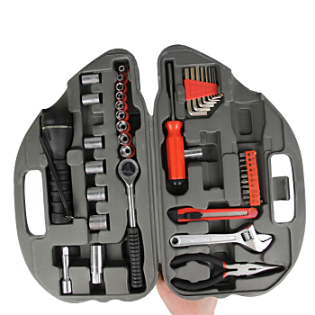 36-Piece Car Shaped Tool Kit