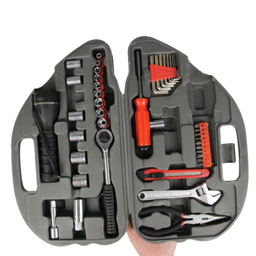 36-Piece Car Shaped Tool Kit Image 3