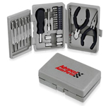 25-Piece Portable Deluxe Tool Kit