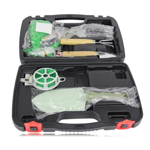 6-Piece Garden Tool Set With Case