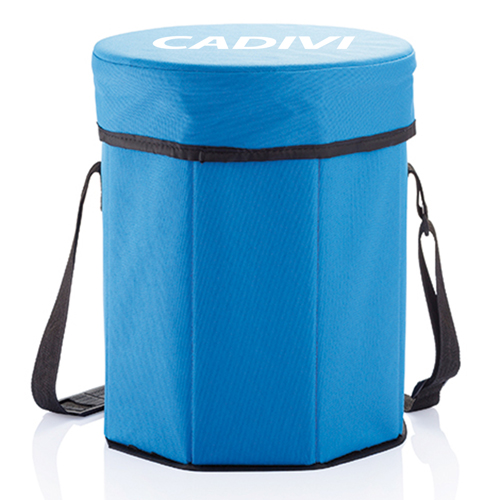 Collapsible Cooler Stool Bag Image 2
