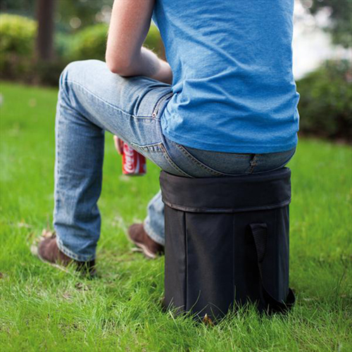 Collapsible Cooler Stool Bag Image 3