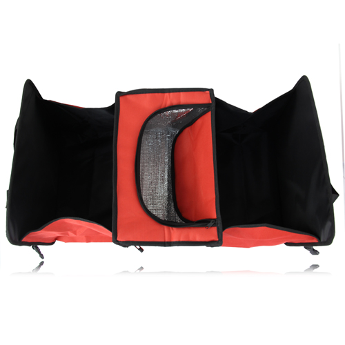 Foldable Car Organizer With Cooler