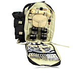 Luxury Picnic Backpack For 4