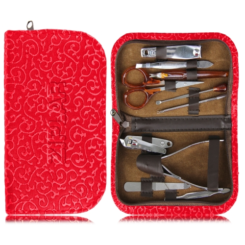 10 Piece Manicure Set With Case