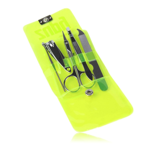 Manicure Set In Transparent Pouch Image 11
