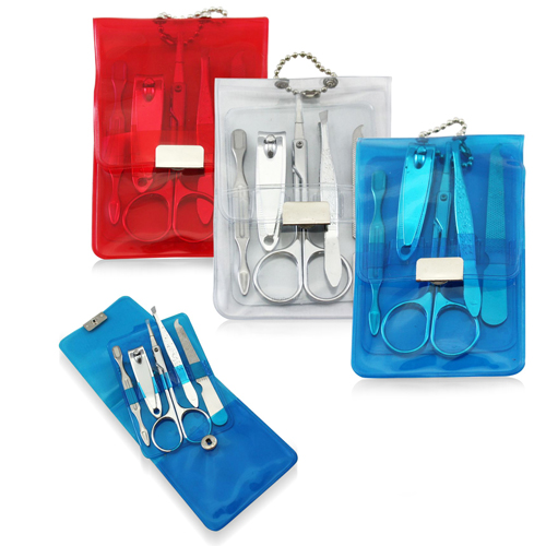 Manicure Set In Transparent Pouch